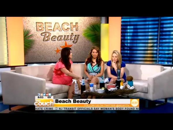 As Seen on CBS's The Couch | Beach Beauty DIY