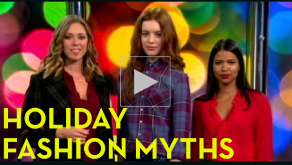 Holiday Fashion Myths – DEBUNKED!